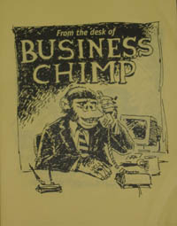 Zine - From the Desk of Business Chimp