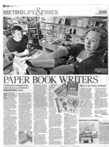 Paper Book Writers article