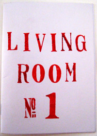 Zine Cover - Living Room #1